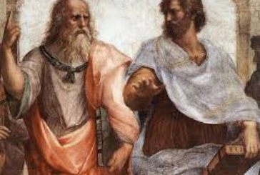 Plato vs Aristotle in Modern Physics