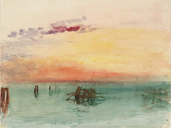 Venezia. La laguna al tramonto
