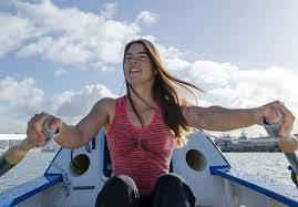 Record mondiale di canottaggio per una donna inglese