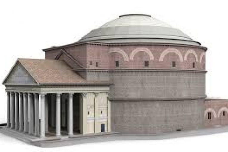 Pantheon architettura e tecnica costruttiva 2la for Architettura e design roma