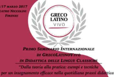 Firenze: Primo Seminario Internazionale di GrecoLatinoVivo