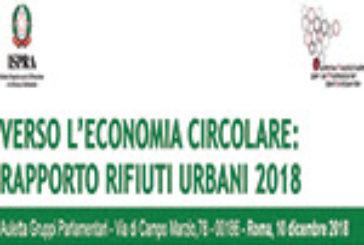 Verso l'economia circolare: rapporto rifiuti urbani 2018 – Convegno