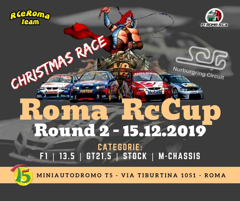 Roma RC Cup 15 Dicembre p.v.